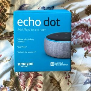 Amazon Echo dot (NWOT)